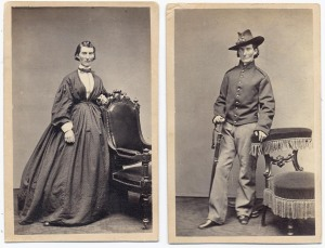 Union soldier Frances Louisa Clayton, who enlisted (with her husband) in 1861 as Jack Williams.