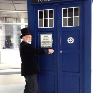 Terry & the TARDIS!