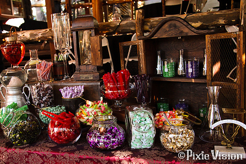 Mad Scientist candy buffet