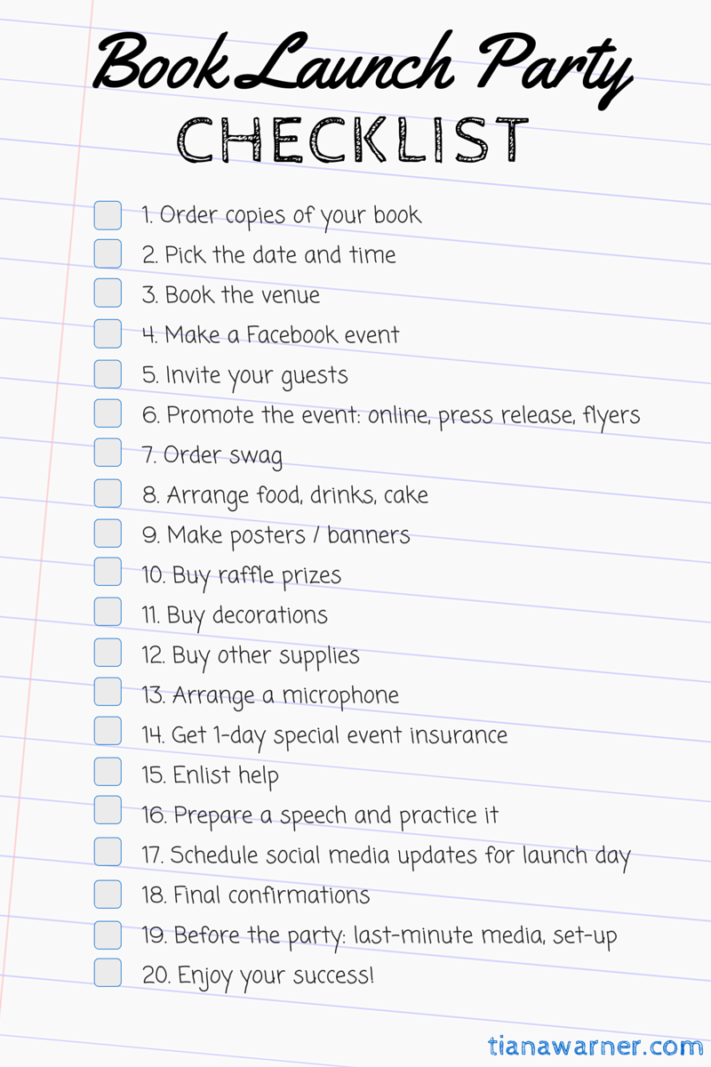 book-launch-party-checklist
